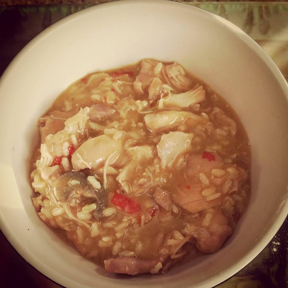 Chicken And Pumpkin Rice