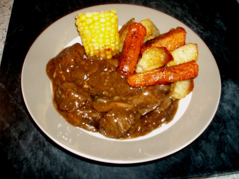 how to make a rump steak cut stew tasty