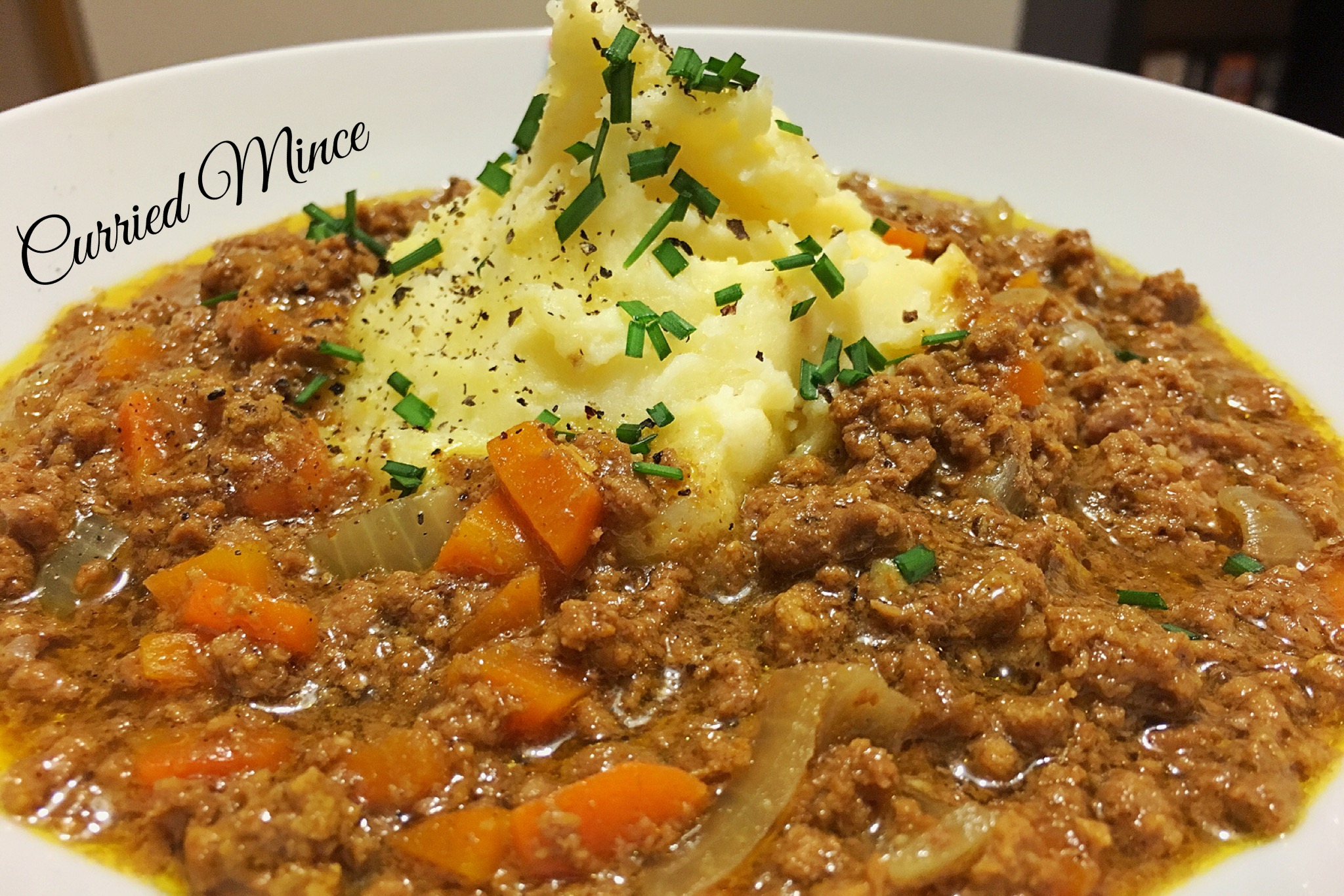 Classic Curried Mince