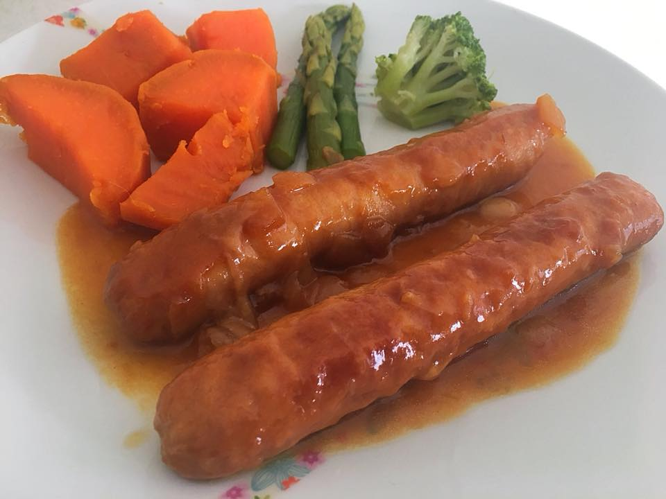 Apricot Chicken Sausages